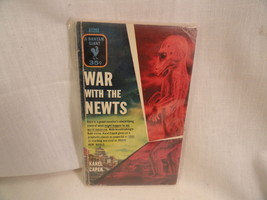 War With The Newts Paperback Book Bantam A1292 Karel Capek 1955 - $2.49