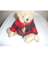 """Teddy Bear Mary Meyer The Green Mountain Jointed 11"""" 1993 """"Haystack"""" - $19.79"""