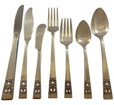 Coronation by Community Silverplate Vintage Flatware Set For 8 Service 6... - $741.51