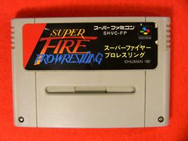 Super Fire Pro Wrestling (Nintendo Super Famicom SNES SFC, 1991) Japan Import - $3.70
