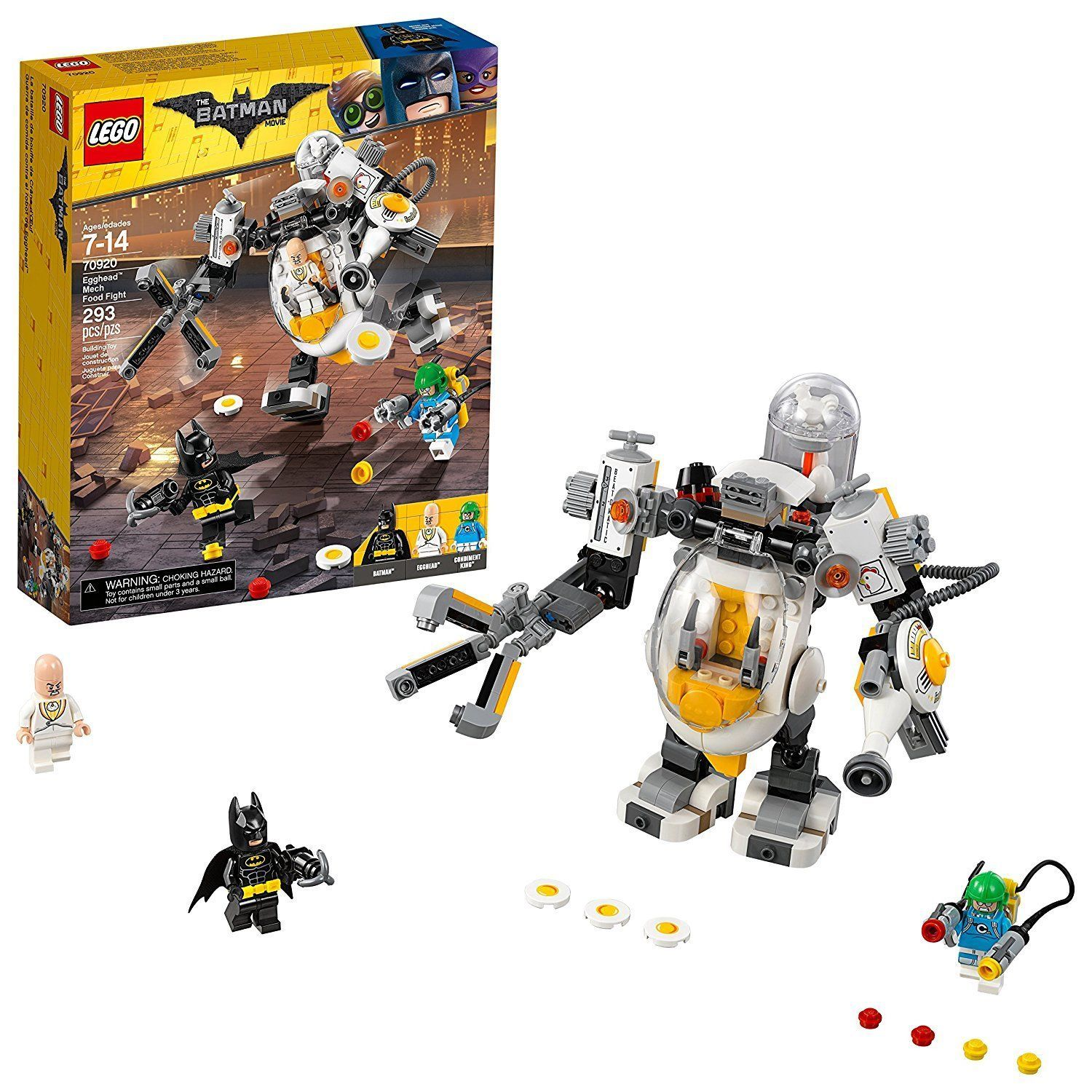 The LEGO Batman Movie 2018 Egghead Mech Food Fight (70920) [New] Building Set
