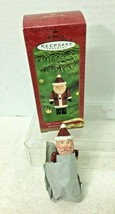 2001 Time Capsule Santa Hallmark Christmas Tree Ornament MIB w Price Tag - $9.41
