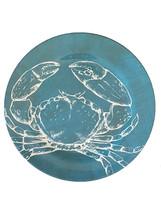 "Ocean Blue Crab Earth Friendly Set of 4 Melamine 10.5"" Dinner Plates Nan... - $598,90 MXN"