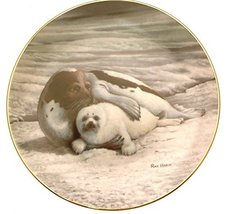 Bradford Exchange Collector Plate Wonders of The Sea Warm Embrace Ray Harm HJ127 - $38.21
