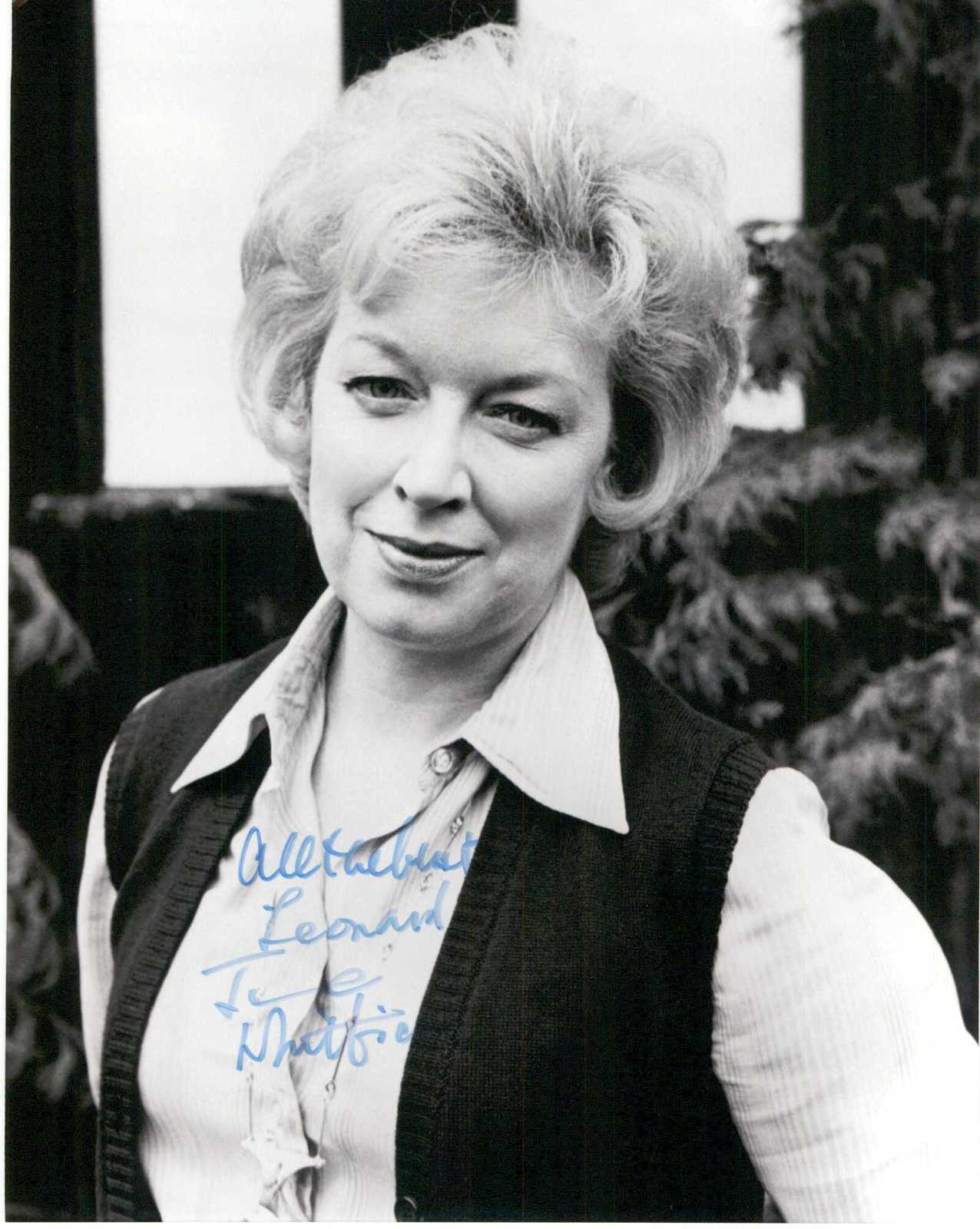 Primary image for June Whitfield Signed Autographed Glossy 8x10 Photo