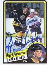 Mike Krushelnyski 1984 Topps Autograph #6 Bruins - $14.89