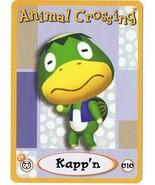 Kapp'n 010 Animal Crossing E-Reader Trade Card Nintendo GBA - $9.99