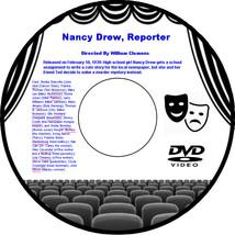 Nancy Drew, Reporter 1939 DVD Movie Mystery Bonita Granville Frankie Tho... - $3.99