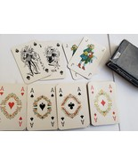 Vintage UTA Airlines PATIENCE Mini Playing Cards, Brepols - $9.95