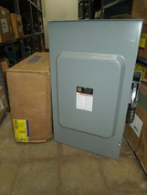 Square D H324NRB Heavy Duty Fusible Safety Switch 200A 3P 4W 600V NEMA 3R - $500.00