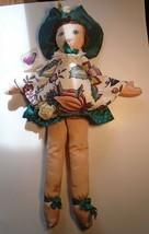 "AMBROSIA INC. 22"" Cloth Doll Laura Farnham 1994 Collectible Floral Theme   - $20.00"
