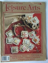 Leisure Arts The Magazine  Cross Stitch February 1989 - $2.95