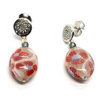 Earrings Antica Murrina Venezia Hanging with Murano Glass Red OR534A11 image 6