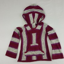 Roxy Girl Girls Hoodie Sweater Multicolor Size Small  - $17.81