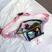Girls / Women Shiny Transparent Fun Fanny Pack / Bum / Crossbody Bag - $11.99+