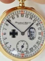 WWI German pilot 24h day/night dial 14k gold and enamel International Wa... - $19,000.00