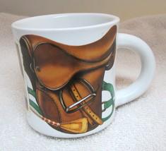 Potpourri Sports Nostalgia 1994 English Hunt Horse Riding Coffee Mug Cup... - $29.69