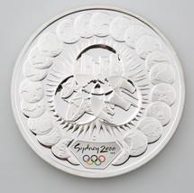 2000 $5 SYDNEY AUSTRALIA OLYMPICS 1 OZ. .999 SILVER PROOF COIN - $74.25