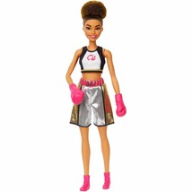 Boxer 60th Anniversary Barbie You Can Be Anything Doll Boxer Girl New Ma... - $19.78