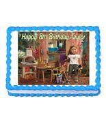 American Girl Lea Clark 2016 Edible Cake Image Cake Topper - $8.98+