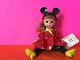 Madame Alexander Wendy Doll As Minnie Mouse McDonald's Toy Collectible - $7.70