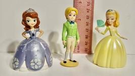 Disney Sofia Princess Figure Lot of 3 PVC - $4.94