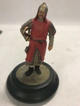 Barton Miniatures England London Soldier guard sword took base KNIGHT - $29.69
