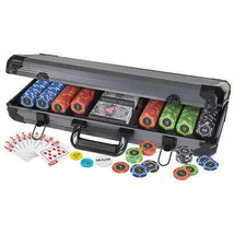 The Ultimate Poker Set 400 Poker Chips 2 Decks of Cards Enough for 8 Pla... - $64.04