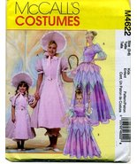 McCalls 4622 Girls Bo Peep, Princess, Fairy Costumes Child Sz 3-8 Sewing... - $9.95