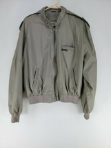 Members Only Jacket Mens Sz 44 Brown Cafe Racer (i2) - $34.00