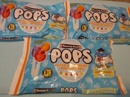 Tootsie Roll Pops Easter Egg Shapes Candy Pops 9 Oz - Lot Of 3 Bags - $7.43