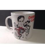 "Danny Gans Large Coffee Cup MUG 4.25"" Tall x 4"" diam Lovely - $13.99"