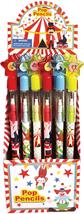 Tinymills 24 Pcs Circus Carnival Multi Point Pencils - $14.02
