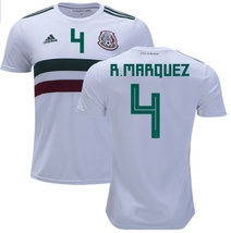 NWT MÉXICO WORLD CUP RAFA MARQUEZ FAN AWAY JERSEY  - $54.99