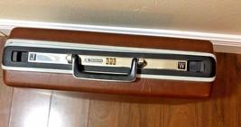 "VTG Samsonite Brown Silver Hard Shell Attache Briefcase 17.5"" x 13"" - $29.09"