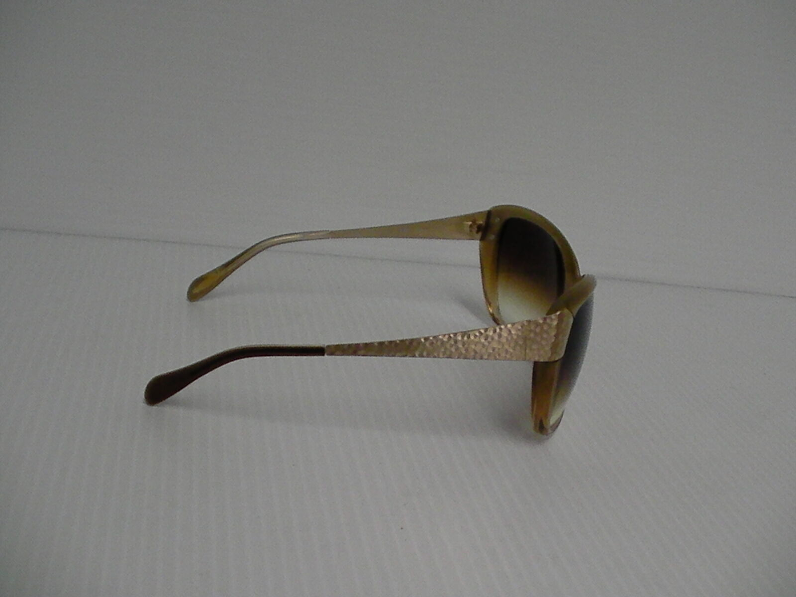 Womens OLIVER PEOPLES NEW SUNGLASSES SKYLA HAMMERED GOLD AMBER LENSE image 3
