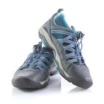 Jambu Aliana Blue Leather Sport Sandals Hiking Trail Outdoor Shoes Womens 7.5 - $24.56