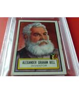 1952  TOPPS   #  74    ALEXANDER  G.  BELL    LOOK ' N  SEE    PSA  5   ... - $39.99