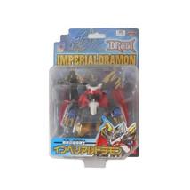 Digimon DReal Imperialdramon Fighter Mode Figure D-Real DigiWarrior Bandai Japan - $98.01