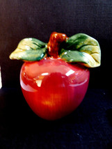 Fitz & Floyd Ceramic Handmade Apple Salt or Pepper Shaker - $14.26