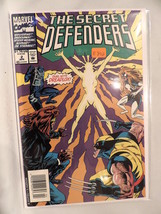 #2 The Secret Defenders 1993 Marvel Comics B892 - $3.99