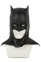 Xcoser Batman Black Latex Fullhead Halmet Movie Cosplay Mask Costume Prop - $46.08 CAD