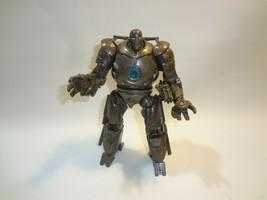 Marvel 2008 IRON MONGER Super Fist Smash w/Blue Arc Reactor from Iron Ma... - $15.83