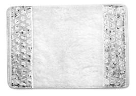"Popular Bath Sinatra White Collection - 21"" x 32"" Bathroom Rug - $26.99"