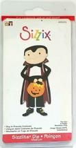 Sizzix Sizzlits Boy in Dracula Costume Die #655274