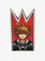 Disney Kingdom Hearts Sora Crown Enamel Pin - $11.11