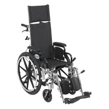 Driver Medical Viper Plus With Leg Rests and Flip Arms 14'' - $615.94