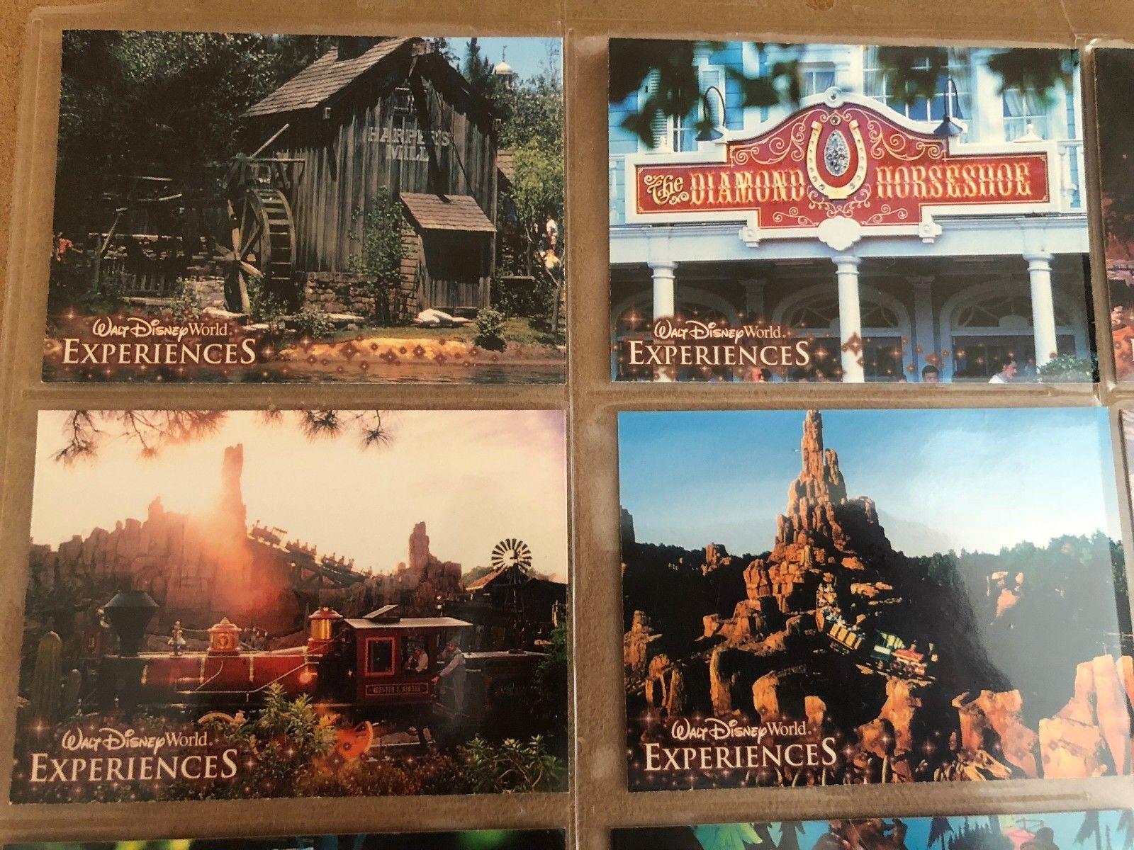 Walt Disney World Experiences Magic Kingdom Trading Card Frontierland lot sleeve