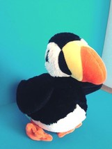 "Plush Mary Meyer Toucan 11"" length Bright orange/yellow/black & white color bird - $14.95"