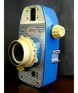 WZFO Alfa 2 Blue/Cream Viewfinder camera 1963 - $342.48